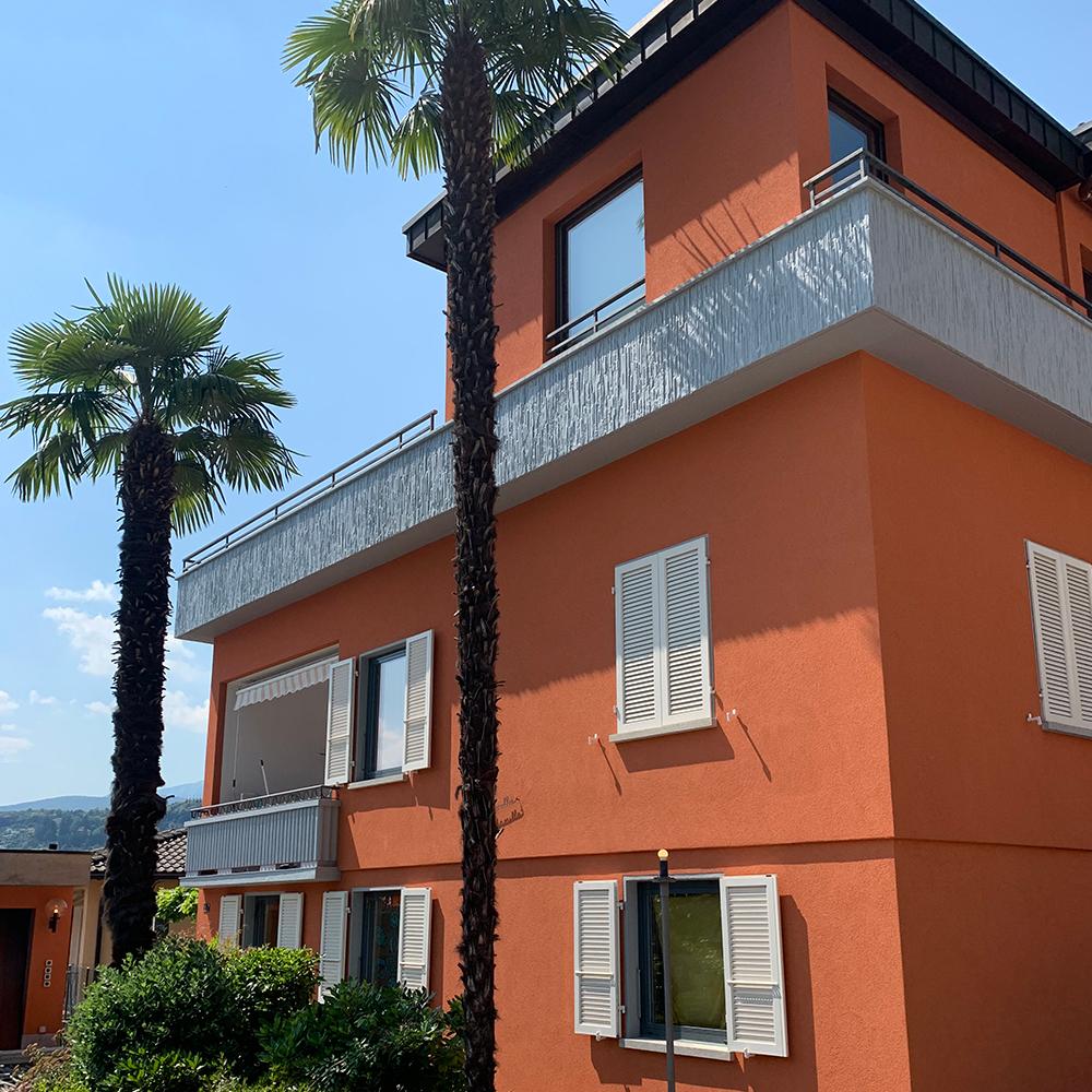 Cappotti e facciate esterne impresa pittura Ticino Lugano